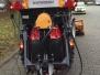 SRH 9800 Kommunalumbau in Schubfahrt mit hydraulischen Kipprahmen